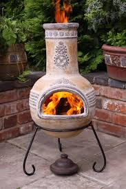 outdoor chimeneas
