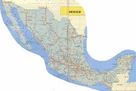 mapa de carreteras en mexico