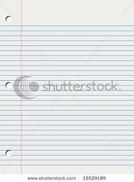 loose leaf paper background