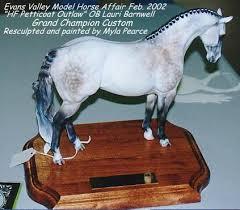 customizing model horses
