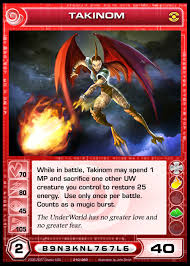 chaotic cards images