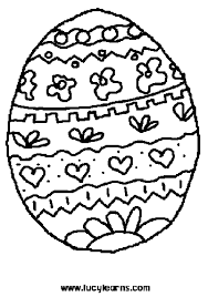 easter pictures to color in