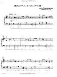 harry potter piano sheet music
