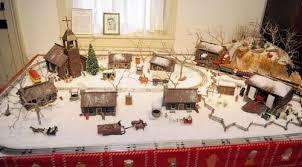 christmas miniature village