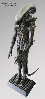life size alien statue