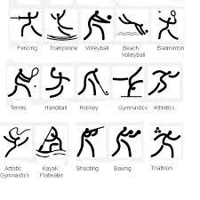 olympic sport symbols