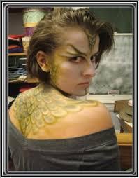 dragon make up