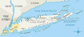map of li ny