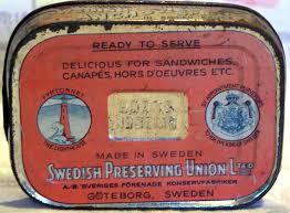 old tin box