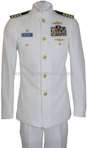 army dress white uniform