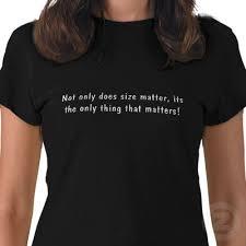 size matter