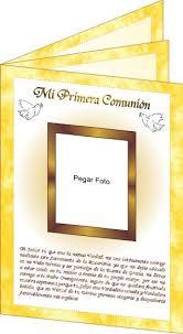 oraciones de primera comunion