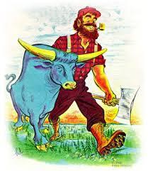 paul bunyan blue ox