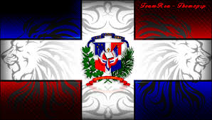 dominican flag graphics