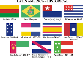 flags of latin american countries