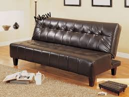 futons leather
