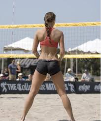 college girls volleyball