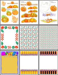 halloween scrapbooking pages