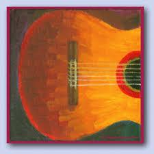 paintings guitar