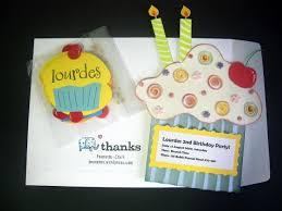 handmade birthday invitation