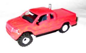 hot pink truck