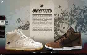 nike dunks undefeated