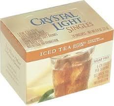 crystal light ice tea
