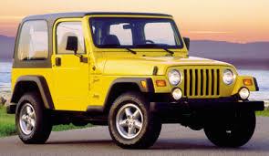 jeep wrangler 2001