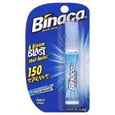 binaca spray