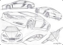 car sketches