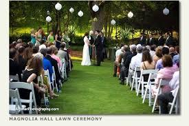 garden wedding ceremonies