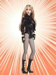 black canary barbie doll