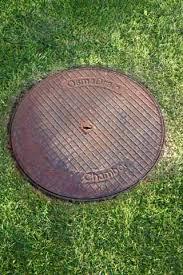metal drain cover