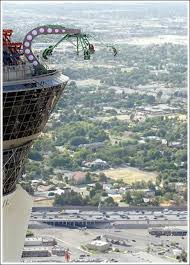stratosphere tower and rides