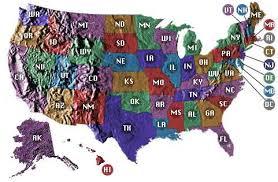 estados de estado unidos