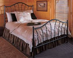 french iron bed