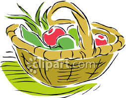 fruit basket clip art