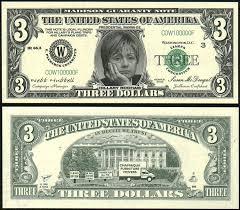 $3 dollar bill
