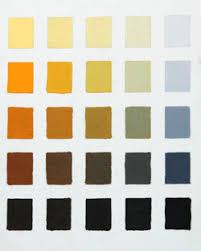 orange colour chart