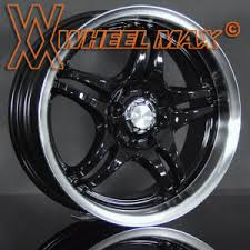 15 inch black wheels