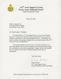 letter to troops