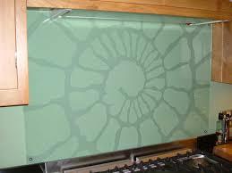kitchen glass splash back