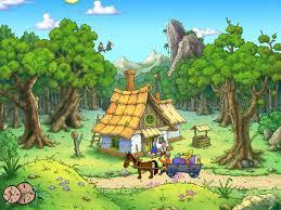 cartoon screensaver