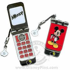 mickey cell phone