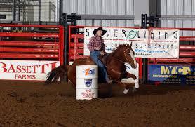 barrel racing horses