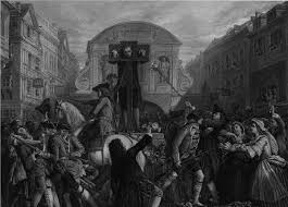 in the pillory