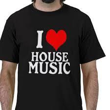 i love house tshirt