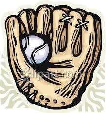 baseball mitt clip art