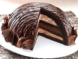 domed cake