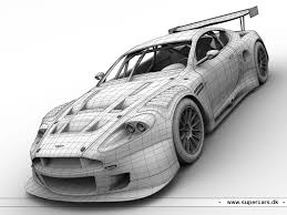 aston martin db9 race car